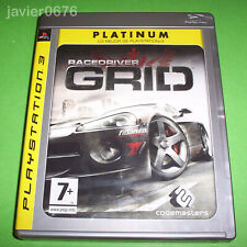 GRID RACE DRIVER COMPLETO PAL ESPAÑA PLAYSTATION 3 PS3