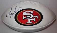 Colin Kaepernick Auto Autograph 49ers Logo Football GAI Global - - FREE PRIORITY