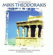 Mikis Theodorakis  - The Very Best of - CD NEU O Zorbas Kyklamino Drapetsona