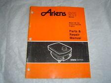 Ariens 911 series Model SB 140 2 Cycle SACHS Engine Parts & Repair Manual