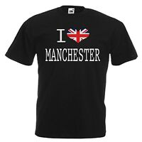 I LOVE HEART MANCHESTER T-SHIRT ALL SIZES & COLOURS