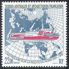 FSAT/TAAF 1993 Astrolabe/Ships/Sailing/Boats/Nautical/Transport/Maps 1v (n23411)