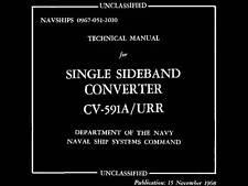 CV-591A Converter manual 1968 Navships 0967-051-2010