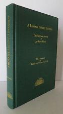 A Rhoads Family History 2001 Hatcher Genealogy Ancestry of Jay Roscoe Rhoads