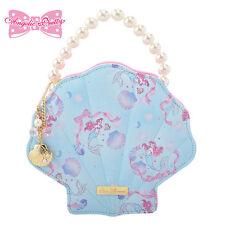 Disney Store Japan Princess Ariel Crystal Dream Mermaid Little Jewelry Bag Case