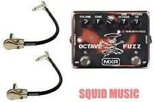 MXR by Dunlop SF01 SLASH Signature Series Octave Fuzz  ( 2 MXR PATCH CABLES )