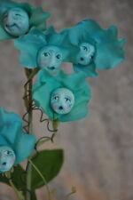 """Alice In Wonderland Talking Flowers """"Blue Sweet Peas"""" By Sutherland"""