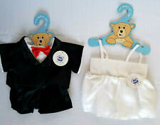 "Noah's Ark Animal Workshop Teddy Bear 12 - 20"" Bride Groom Costumes Outfits Tux"