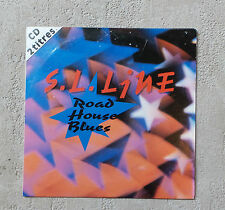 "S.L. LINE ""ROAD HOUSE BLUES"" CD SINGLE PROMO PANIC RECORDS 1993 2T THE DOORS"