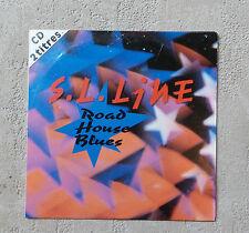 "S.L. LINE ""ROAD HOUSE BLUES"" CD SINGLE PROMO PANIC RECORDS 1993 2T THE DOORS"