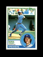 1983 Topps Baseball #350 Robin Yount (Brewers) NM-MT