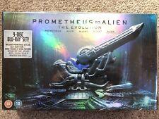 Prometheus to Alien: The Evolution Box Set (9-Disc Set) (Blu-ray) NEW SEALED