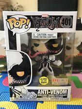 Funko Pop! Venom Anti-venom GITD *BoxLunch Exclusive* In Hand + Protector