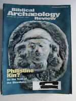 Biblical Archaeology Review May/June 2002 Philistine Kin?