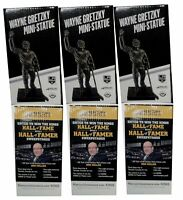 3x Wayne Gretzky  Mini Statue Stadium  Give Away SGA Bobble Head All New in Box