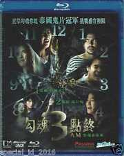 3 AM Part 1 (Blu-ray) 3D+2D (2013) Thai Thriller Horror Ghost English Subtitle