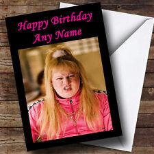 Vicky Pollard Personalised Birthday Greetings Card