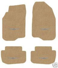 CHRYSLER 300C AWD TAN  FLOOR MATS ALL FOUR WITH WINGS LOGO 2011-2015