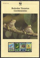 Liechtenstein : WWF-Kapitel bedrohte Tiere