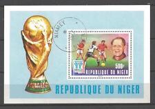 Fútbol Níger (22) colección matasellado