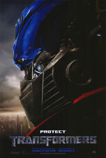 "TRANSFORMERS Movie Poster [Licensed-NEW-USA] 27x40"" Theater Size (2007) B"