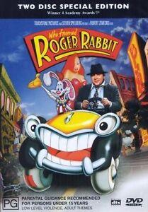 Who Framed Roger Rabbit (DVD, 2003, 2-Disc Set) Free Post