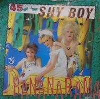 """BANANARAMA - Shy Boy ~ 7"""" Single PS"""