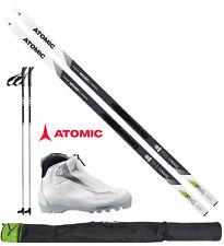 Atomic Mover X Langlaufset L=183cm + Bindung + Schuhe women + Stöcke + Skisack