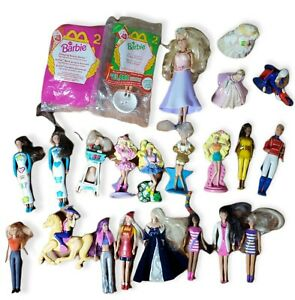 Lot of McDonald's Happy Meal Barbie Doll Toys
