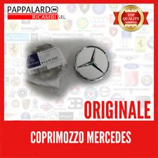 ORIGINALE COPERCHIO MOZZO RUOTA COPRI COPERCHIO Cerchioni Mercedes-Benz Sterling Argento Nuovo