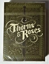 Thorns and Roses (THORNS) Playing Cards Limited Edition Deck Steve Minty USPCC
