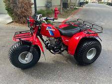 RARE 1984 Honda BIG RED ATC200ES ATV Three Wheeler With High/ Low And Revers