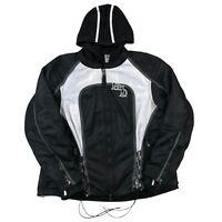 Harley Davidson Evermore 3-IN-1 Motorcycle Jacket Full Sleeve Hoodie Liner 2W