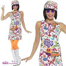 Smiffys 44911m 60s Groovy Chick Costume Medium