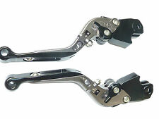 BMW K1200S  2004-2008  BRAKE AND CLUTCH LEVER SET EXTENDABLE FOLDING ROAD TS127