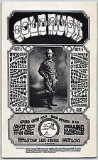 "Santana Ike & Tina Turner Original Handbill ""Gold Rush"" Lake Amador 1969 Mint"