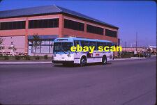 Ajax Transit 903 original Kodachrome color bus slide