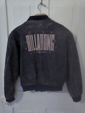 Vintage Leather Bomber Jacket, Billabong Surf Co. Promo From Mid 1980's Men's Lg