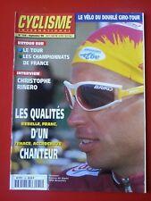1998 CYCLISME international n°155 RETOUR SUR LE TOUR RINERO GUIMARD CHANTEUR