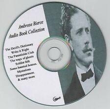 Ambrose Bierce 29 Audio Books Collection on MP3 CD