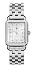 MICHELE DECO II DIAMOND  LADIES WATCH MWW06X000026 STAINLESS Steel BAND $1155.00