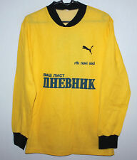Vintage RFC NOVI SAD Serbia match worn shirt Adidas #6 80's