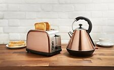 New Innovative Rare Copper Kettle And Toaster Breakfast Set - uk fast dispatch