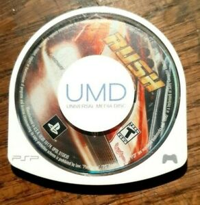 Rush (Sony PSP, 2006) VG Shape & Tested