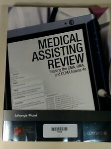 Medical Assisting Review: Passing the CMA, RMA, and CCMA Exams by Jahangir Moin…