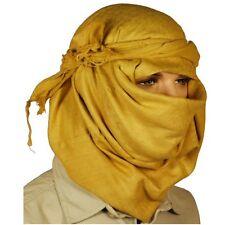 Nuevas fuerzas Estilo Desierto Tan Shemagh Bufanda, aproximadamente 45cm X 45cm, 100% algodón