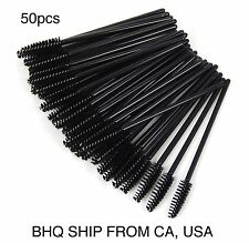 50pcs Disposable Mascara Wands Applicator Tinting Brushes For Eyelash Extension