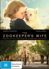 The Zookeeper's Wife NEW R4 DVD