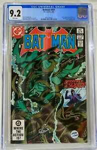 Batman 357 CGC 9.2 White Pages. First Appearance of Killer Croc and Jason Todd