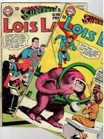 Lois Lane  #'s 54 & 55  (DC 1965) Silver-Age 12 Cent